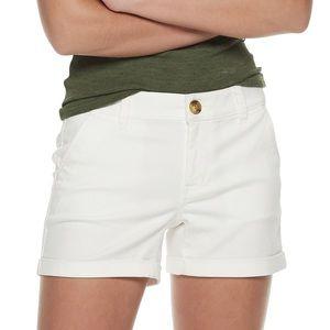 NWT So White Shorts